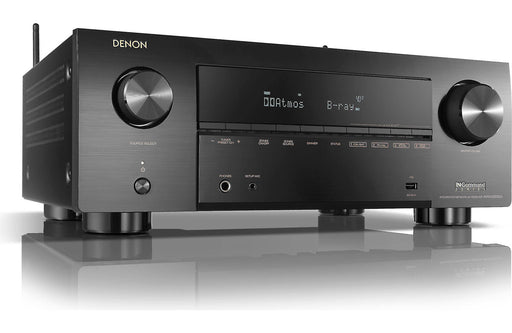Denon AVR-X3700H 9.2 Channel 8K AV Receiver with 3D Audio and HEOS Open Box - Safe and Sound HQ