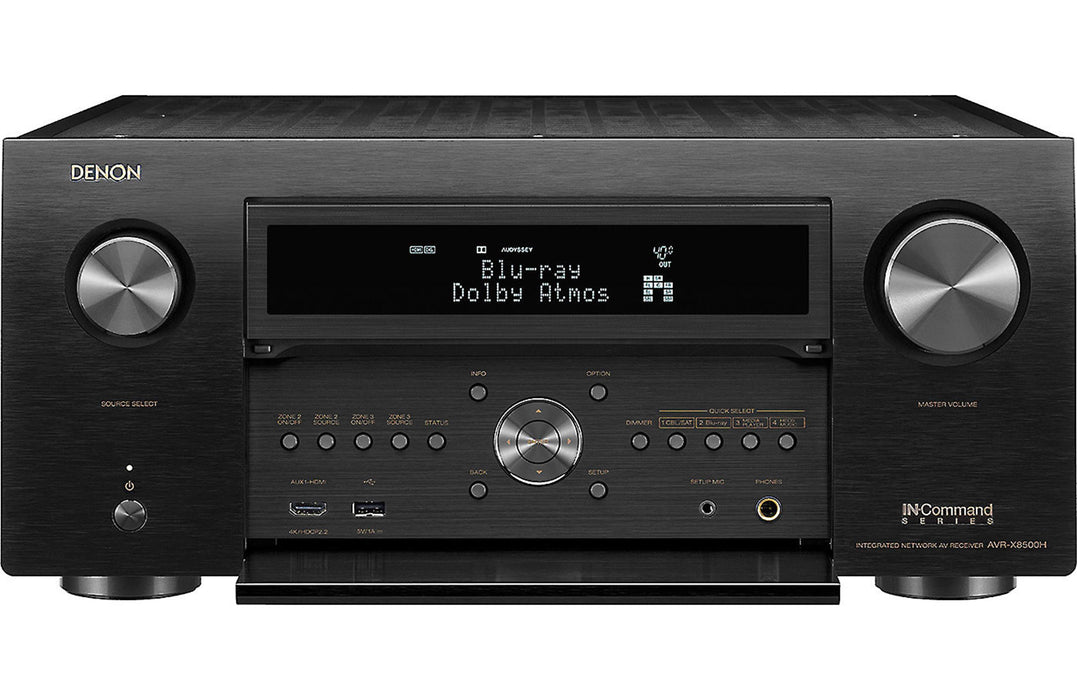 AVR-X8500H 13.2 Channel A/V Reveiver with Auro-3D and HEOS - Safe and Sound HQ