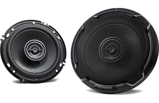"Kenwood KFC-1696PS 6 1/2"" Round 2-Way Coaxial Speaker (Pair) - Safe and Sound HQ"