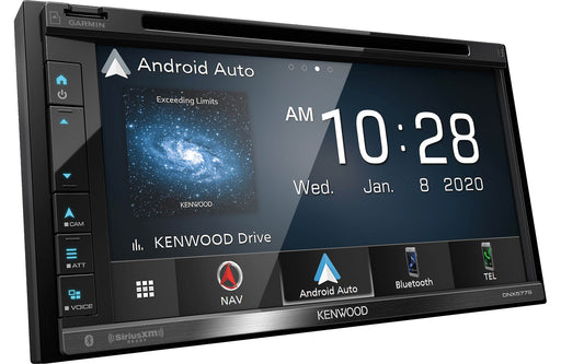 Kenwood DNX577S Navigation DVD Receiver with Bluetooth - Safe and Sound HQ