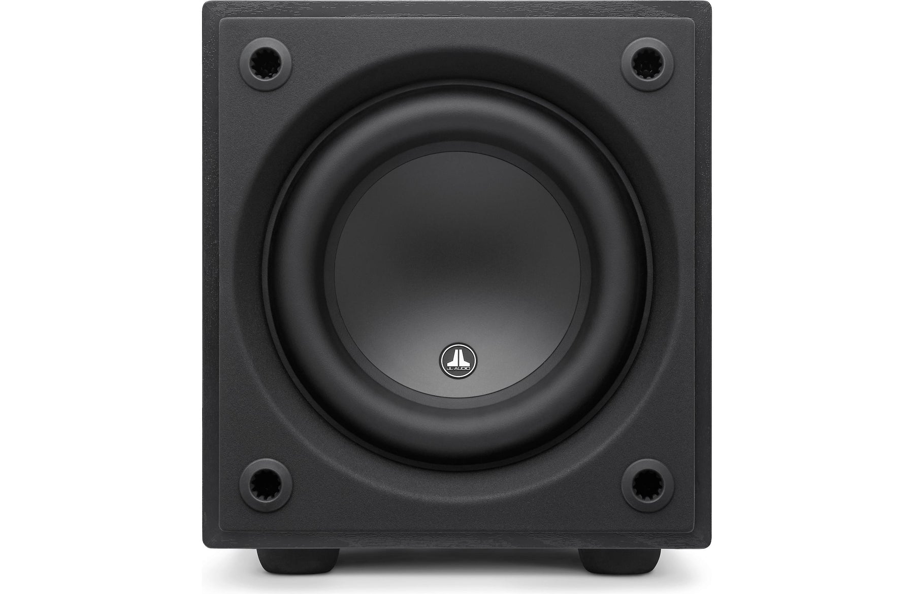 "JL Audio D108-ASH Dominion 8"" Powered Subwoofer Ash Finish - Safe and Sound HQ"