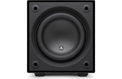 "JL Audio D108-GLOSS Dominion 8"" Powered Subwoofer Gloss Finish - Safe and Sound HQ"