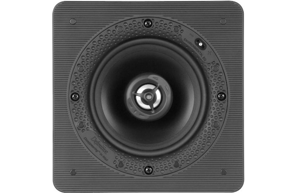 Definitive Technology DI5.5S Square Disappearing In-Wall Speaker (Each) - Safe and Sound HQ