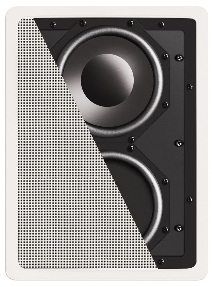 Definitive Technology IW Sub 10/10 Fully-Enclosed In-Wall Subwoofer (Each) - Safe and Sound HQ