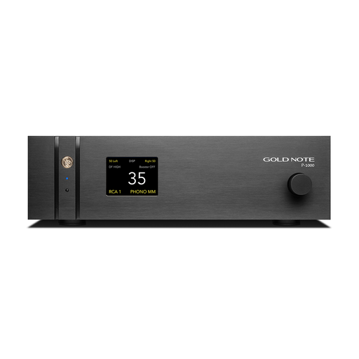 Gold Note P-1000  Class-A Line Preamplifier - Safe and Sound HQ