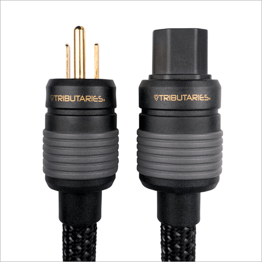 Tributaries Model 8P-IEC Series 8 Power Cable - Safe and Sound HQ