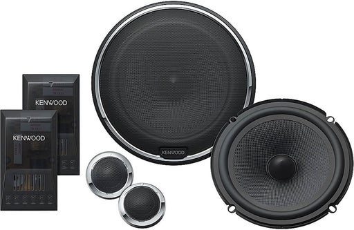 "Kenwood Excelon KFC-X1730P 6 3/4"" Component Speaker System - Safe and Sound HQ"
