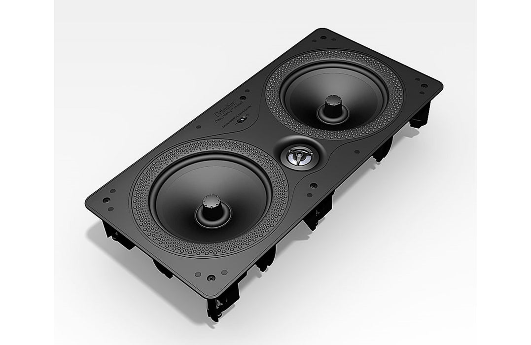 Definitive Technology DI 6.5 LCR Disappearing In-Wall series dual 6-1/2 L/C/R loudspeaker (Each) - Safe and Sound HQ