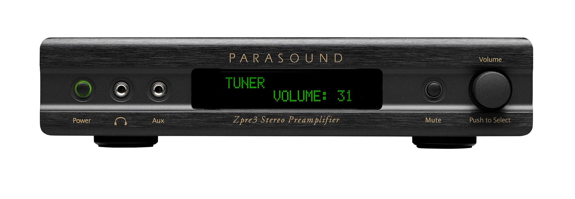 Parasound ZPre3 Two Channel Zone Preamplifier - Safe and Sound HQ