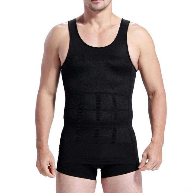 Men Body Slimming Tummy Shaper Belly Underwear Shapewear Waist Vest