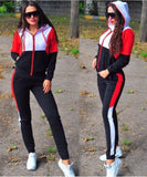 """Princess Popping"" Women Plus Size Tracksuit Two Piece Set Casual Sport 2 Piece Sets Sportswear Tracksuit"