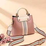 Carlie 2019 new leather  casual cross-body bag with large capacity for women