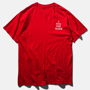 Kanye West Pablo T Shirt Men I Feel Like Paul Print