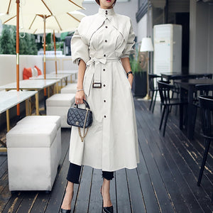 2020 Fall Collection new arrival  outdoor warm long trench