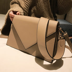 Erica Fashion Casual Square PU Leather Women Handbag
