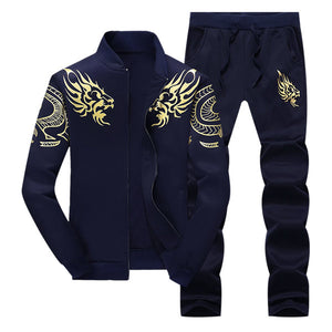 Mens Tracksuit Outwear Hoodie Set 2 pieces