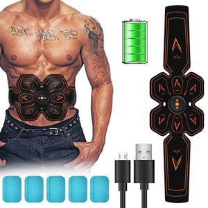 Muscle Stimulator Body Waist Trainer Fitness Slimming Belt