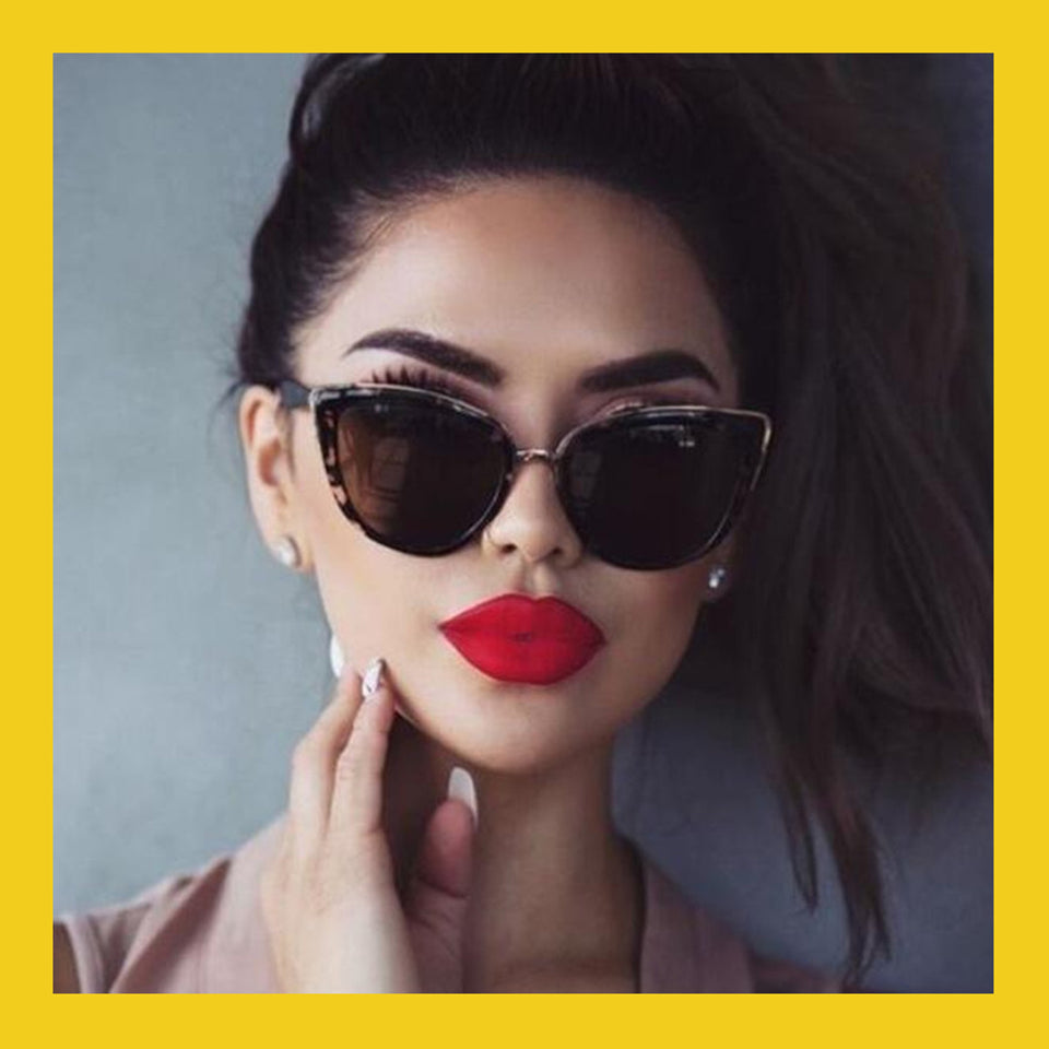 Explosion Models Luxury Mirror Sunglasses Women