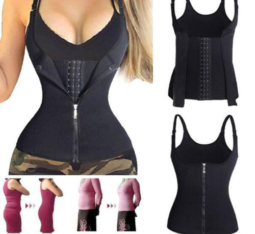 Corset Back Shoulder Strap Waist Trainer