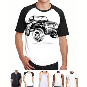 Jeeps T Shirts Men Best High Quality Car for Off Road Shirt