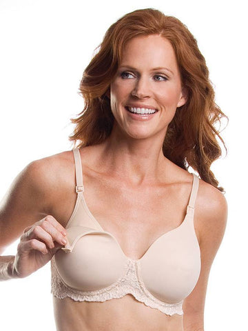Leading Lady 406 Lace Band Underwire Nursing Bra - New Baby New Paltz