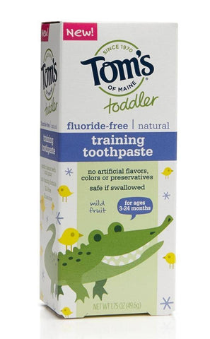 Tom's Toddler Toothpaste - New Baby New Paltz