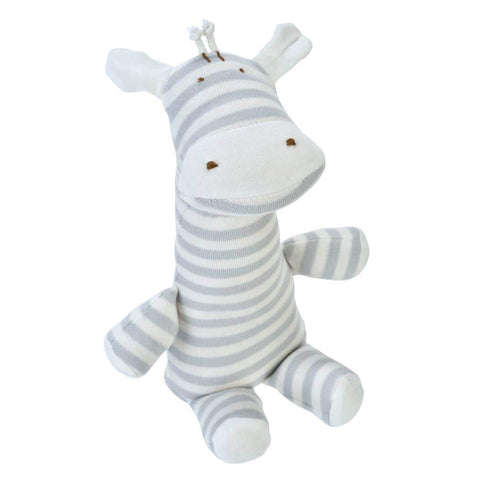 Under the Nile Giraffe Lovey Doll - Grey Stripe - New Baby New Paltz
