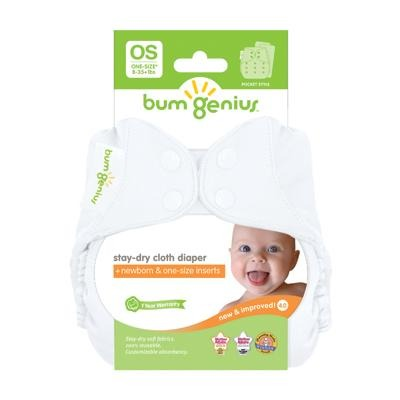 BumGenius 4.0 Stay-Dry Cloth Diaper - New Baby New Paltz