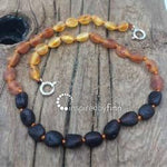 Inspired By Finn Baltic Amber Anklet 8""