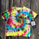 Hand dyed by Donna Bruschi cotton Hanes T-shirt