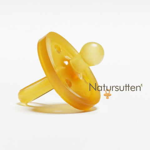 Natursutten Original Round Orthodontic Pacifier Small - 0 to 6 months - New Baby New Paltz