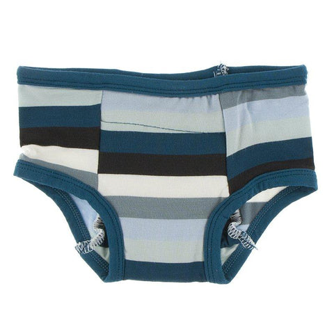 Kickee Pants Training Pant in Meteorology Stripe - New Baby New Paltz