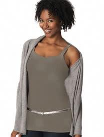 Glamourmom Nursing Bra Long Top W/Adjustable Chest Band - New Baby New Paltz