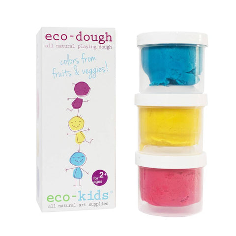 Eco-Kids Eco-Dough 3 pack - New Baby New Paltz