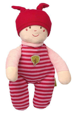 Sigikid Organic Gnome Cuddle Toy - pink - New Baby New Paltz
