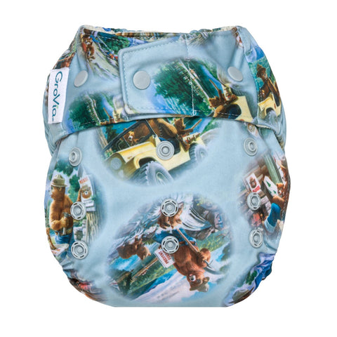 Grovia Hybrid Diaper Shell - Snap - New Baby New Paltz