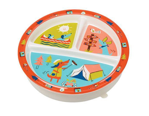 Sugarbooger Divided Suction Plate - New Baby New Paltz