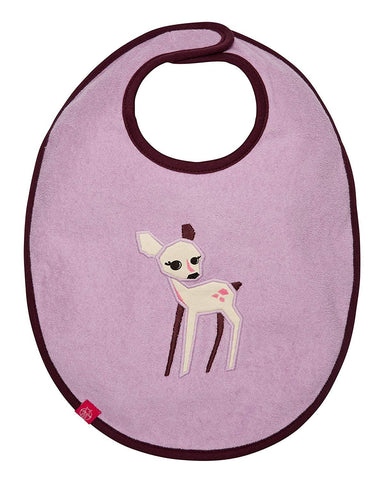 Lassig Little Tree Fawn Waterproof Bib - New Baby New Paltz