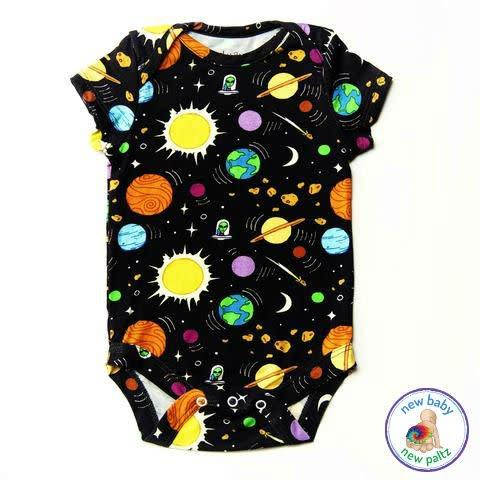 Lucky Bug Onesie Outer Space - New Baby New Paltz