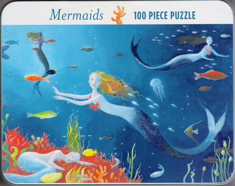 Mermaids Jigsaw Puzzle 100 pc