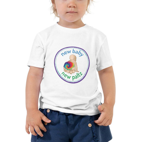 NBNP Toddler Short Sleeve Tee - New Baby New Paltz
