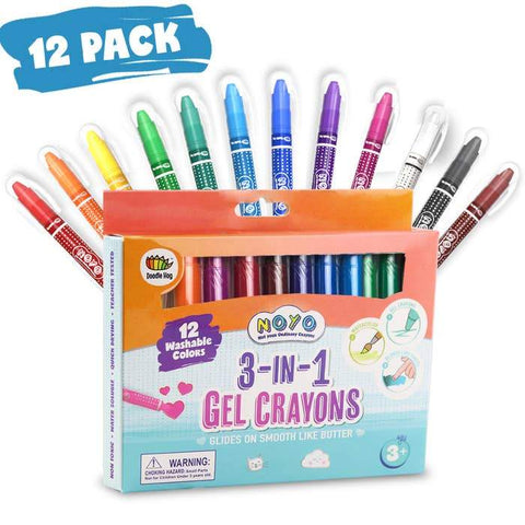 Doodle Hog Not Your Ordinary Crayons - Set of 12 - New Baby New Paltz