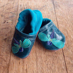 Starry Knight Design Applique Shoes Dragonfly  NB - New Baby New Paltz