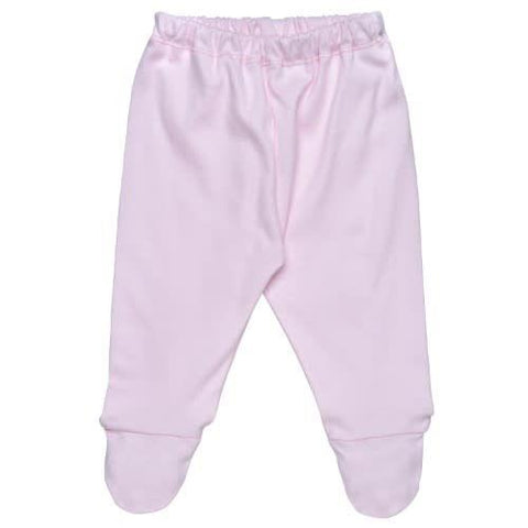 Under The Nile Footie Pants Pink