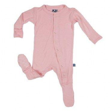 Kickee Pants Basic Footies - New Baby New Paltz