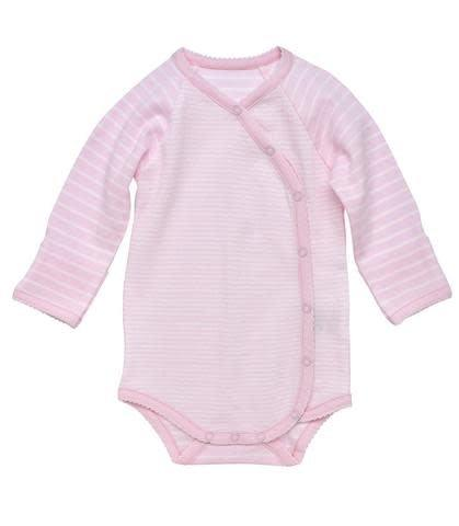 Under The Nile Side Snap Bodysuit L/S Pink