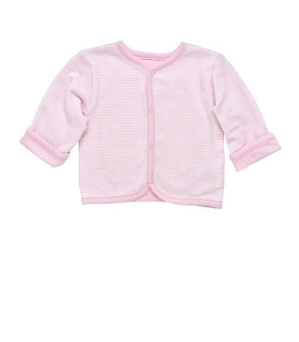 Under The Nile Side Snap Cardigan Pink - New Baby New Paltz