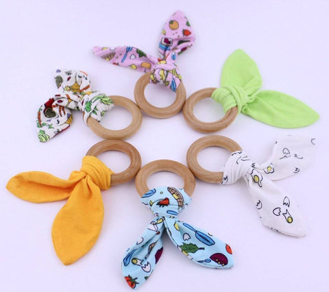 Lucky Bug Lucky Bug Teething Rings - New Baby New Paltz
