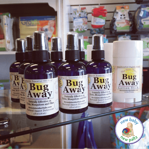 Three Sisters Herbals Bug Away Spray - New Baby New Paltz