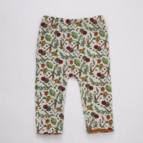 Lucky Bug Pants Veggie w/Squash - New Baby New Paltz